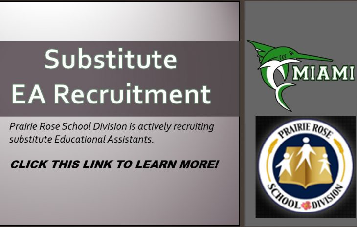 Substitute EA Recruitment