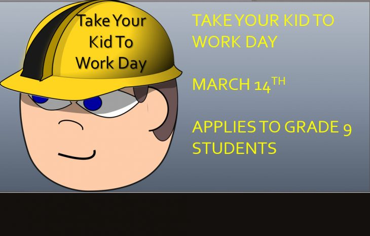 Take Your Kid To Work Day Info