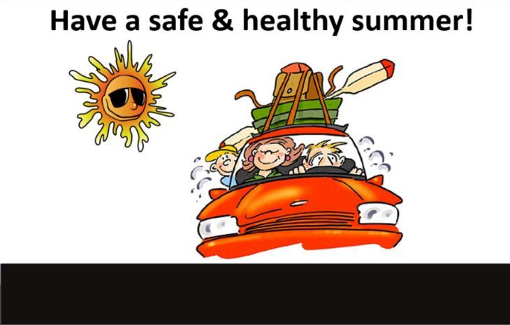 Have a Safe & Healthy Summer!