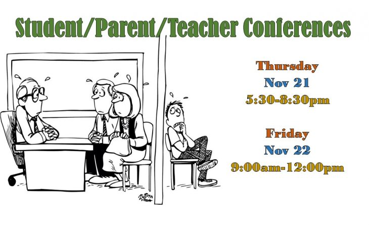 Parent/Student/Teacher Conferences