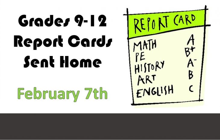 Semester 1 Term 2 Report Cards