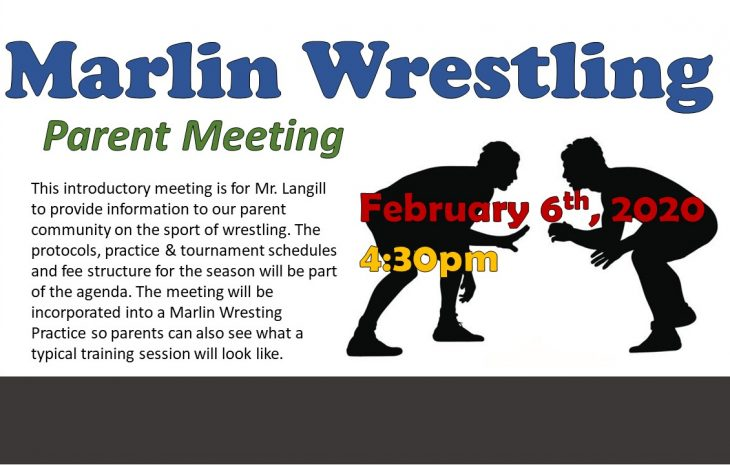 Wrestling – Parent Meeting