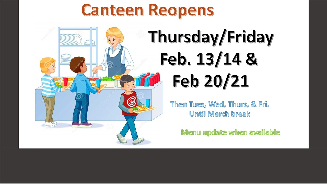 Canteen Reopens