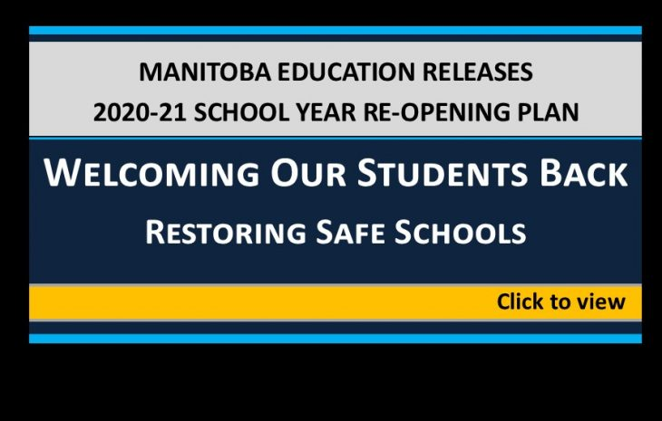 Manitoba Education: Welcoming Our Students Back