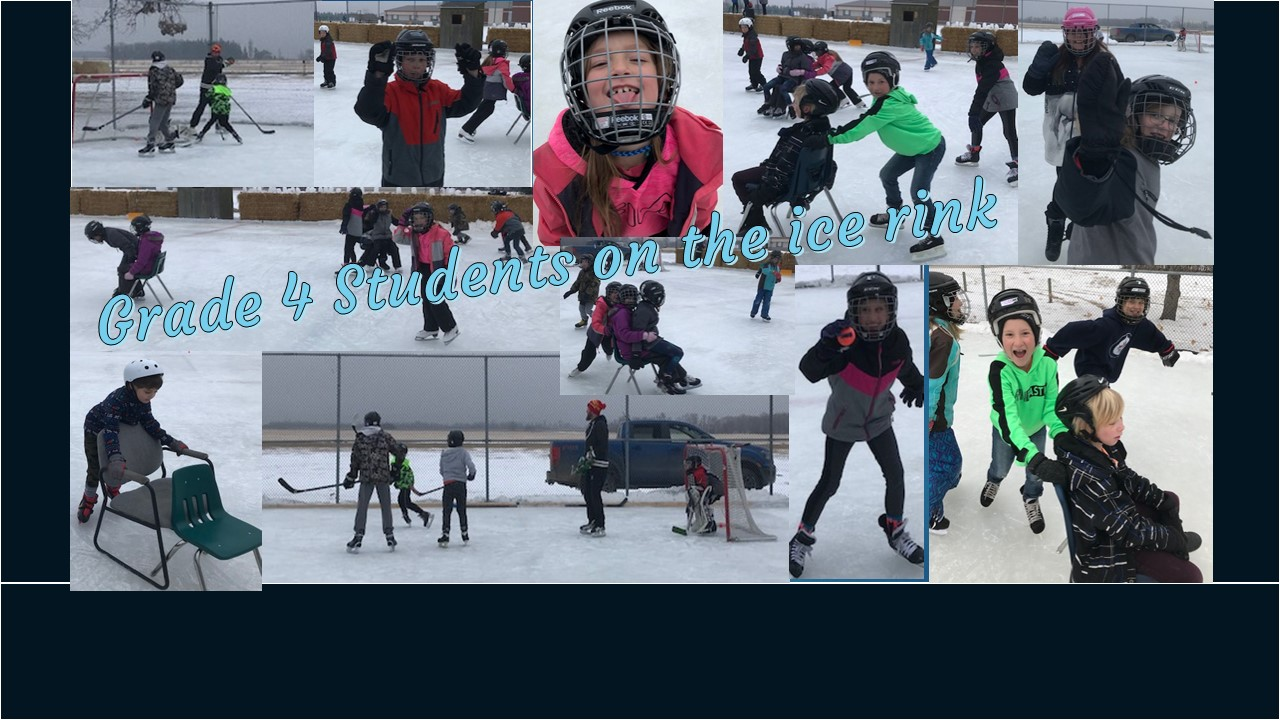 Grade 4 on the ice