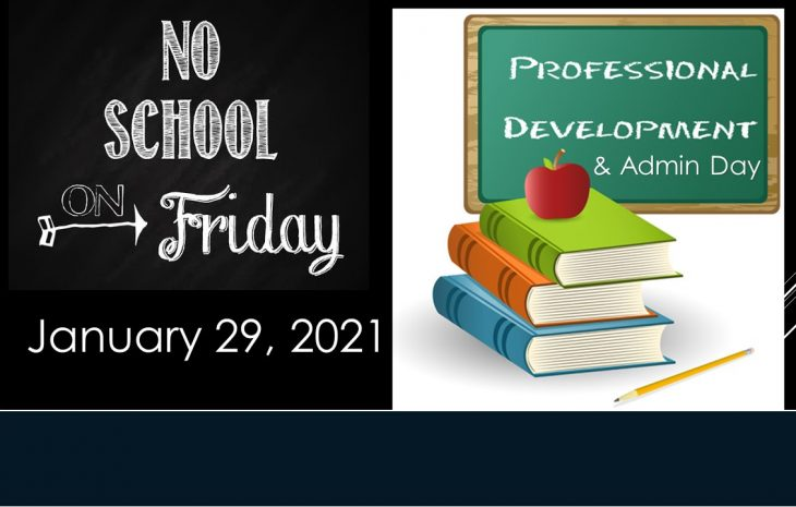 No School Fri. Jan 29