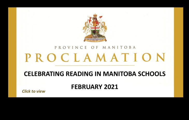 February 2021 – Celebrating Reading in Manitoba Schools
