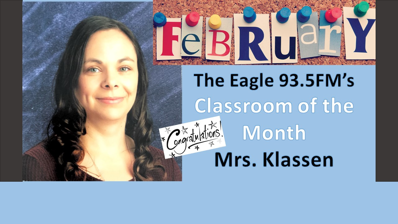 The Eagle 93.5 Classroom of the Month
